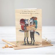 Mia Hague 'I Knew When I Met You' Card